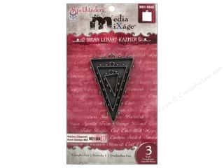 Weekly Specials Resin & Bezels: Spellbinders Media Mixage Bezels Triangles One Silver