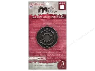Spellbinders Media Mixage Bezels Circles Three Silver