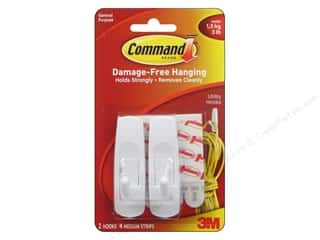 2013 Crafties - Best Adhesive: Command Adhesive Hook Medium 2pc