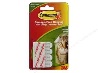 3M $1 - $3: Command Adhesive Replacement Poster Strips 12pc