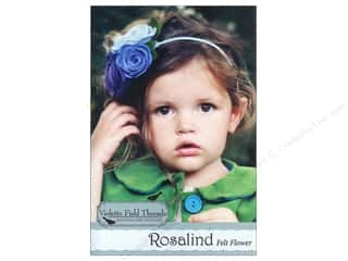 Crafting Kits Flowers: Violette Field Threads Rosalind Felt Flower Kit