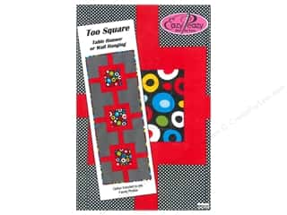 Suzn Quilts Patterns Table Runner & Kitchen Linens Patterns: Eazy Peazy Too Square Table Runner Pattern