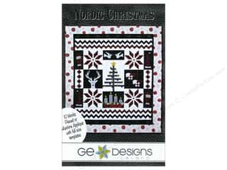 G : GE Designs Nordic Christmas Pattern