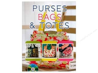 Quilted Trillium, The Tote Bags / Purses Patterns: American Quilter's Society Purses, Bags & Totes Book by Moya's Workshop