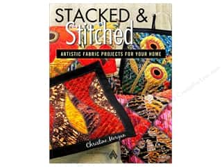 American Quilter's Society $8 - $10: American Quilter's Society Stacked & Stitched Book by Christine Morgan