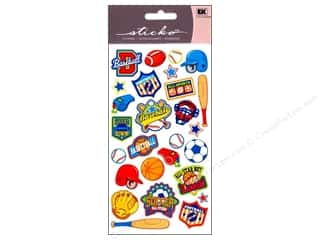 EK Sticko Stickers Sports Badges