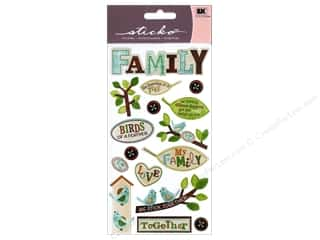 Stickers Family: EK Sticko Stickers The Family Tree