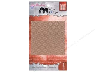 Spellbinders Media Mixage Textured Plate Grate Works One