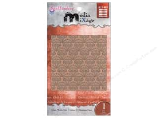 Spellbinders Media Mixage Textured Plate Grate Works Two