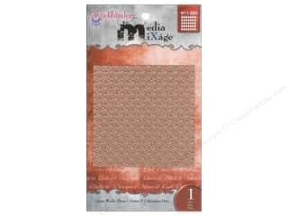 Spellbinders Media Mixage Textured Plate Grate Works Three