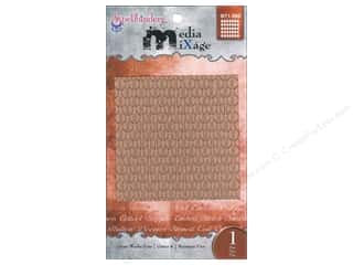 Spellbinders Media Mixage Textured Plate Grate Works Four