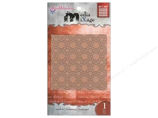 Spellbinders Media Mixage Textured Plate Interlock