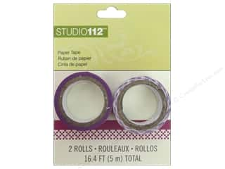 Love & Romance Glues, Adhesives & Tapes: K&Company Tape Studio 112 Paper Purple