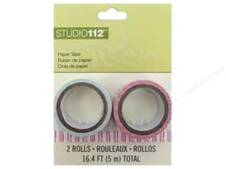 Love & Romance Glues, Adhesives & Tapes: K&Company Tape Studio 112 Paper Stripe