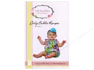 Patterns Clearance: Girly Bubble Romper Sizes Newborn-5 Pattern