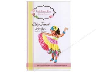 Children Clearance: Little Lizard King Ellie Tiered Twirler  Sizes 6M-8 Pattern