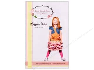 Little Lizard King Ruffle Skirt Sizes 6M-8 Pattern
