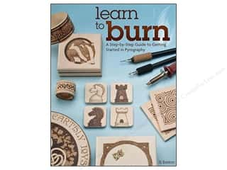 Design Originals $8 - $14: Fox Chapel Publishing Learn To Burn Book by Simon Easton