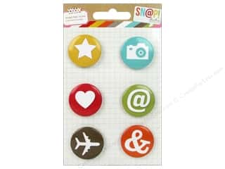 Simple Stories Embellishments Flair Badge Snap Icon