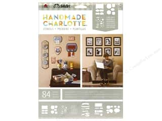 bubble abc & 123: Plaid Stencil Paper FolkArt Charlotte Labels