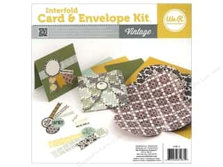 We R Memory Card & Envelope Kit Interfold Vintage