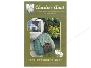 Tote Bag $10 - $15: Charlie's Aunt The Poacher's Bag Pattern by Emma Brennan