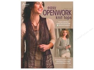 Yarn, Knitting, Crochet & Plastic Canvas Annie's Attic: Annie's Knitting Easy Openwork Knit Tops Book by Kennita Tully