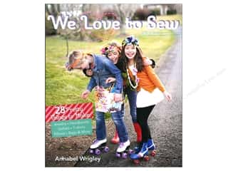Fun Stitch Studio An Imprint of C & T Publishing Clearance Books: FunStitch Studio We Love To Sew Book by Annabel Wrigley