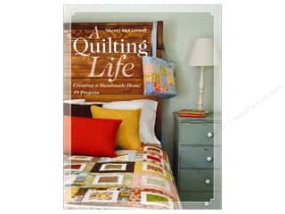 Pillow Shams $11 - $12: C&T Publishing A Quilting Life: Creating a Handmade Home by Sherri McConnell