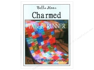 Shabby Fabrics Table Runners / Kitchen Linen Patterns: Bella Moon Charmed Table Runner Pattern