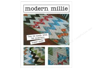 Quilted Trillium, The Table Runner & Kitchen Linens Patterns: Bella Moon Modern Millie Table Runner Pattern