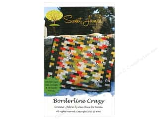 Sweet Treasures Clearance Patterns: Sweet Jane's Designs Borderline Crazy Pattern