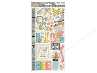 Simple Stories Sticker Vintage Bliss Chipboard