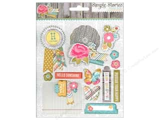 Simple Stories Sticker Vintage Bliss Layered