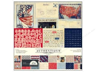 Clearance Blumenthal Favorite Findings: Authentique Collection Kit 12 x 12 in. Pride