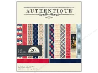 Authentique 6 x 6 in. Paper Bundle Pride 26 pc.