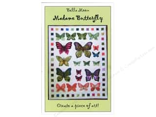 rolled insect: Bella Moon Madame Butterfly Quilt Pattern