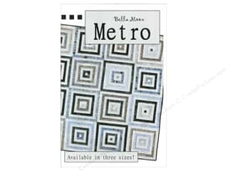 Quilt in a Day Quilt Patterns: Bella Moon Metro Quilt Pattern
