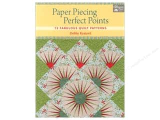 Paper Pieces paper dimensions: That Patchwork Place Paper Piecing Perfect Points Book by Debby Kratovil