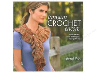 Weekly Specials Aunt Lydias Bamboo Crochet Thread Size 10: Tunisian Crochet Encore Book