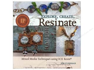 Resin, Ceramics, Plaster $24 - $104: ICE Resin Explore Create Resinate Book by Jen Cushman