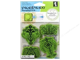 Inkadinkado Stamping Gear Stamps Cling Vintage Parts