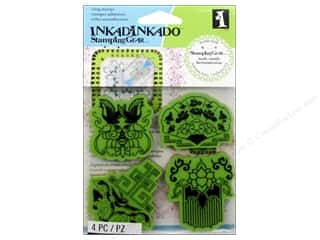 Rubber Stamps: Inkadinkado Stamping Gear Rubber Stamp Far East