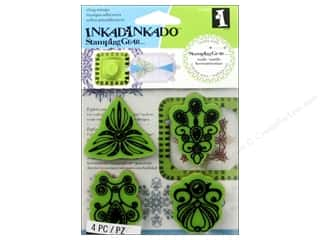 weekly specials Stamping: Inkadinkado Stamping Gear Rubber Stamp Jewelry
