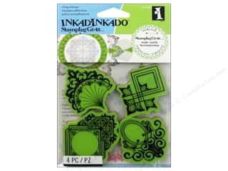 Inkadinkado Stamping Gear Rubber Stamp Decorative Ornaments