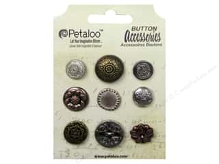 Petaloo Accessories Darjeeling Buttons Vintage