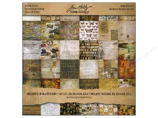 Tim Holtz Idea-ology Paper Stash Collage Mini Stash