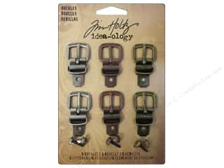 Books $0 - $5: Tim Holtz Idea-ology Buckles