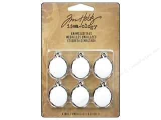 Tim Holtz Idea-ology Enameled Tags