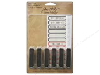 Books Clearance $0-$5: Tim Holtz Idea-ology Label Clips